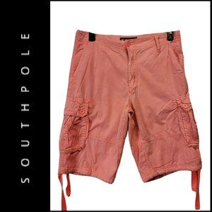 Southpole Men's  Longer Length Cargo Short Size 32